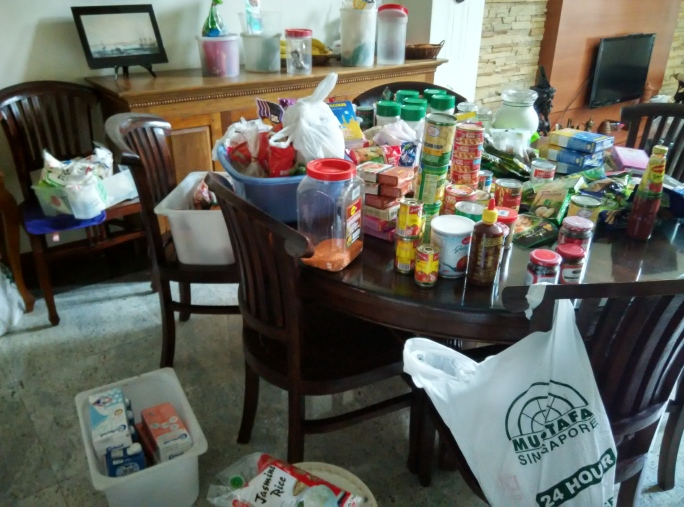 Pantry Contents
