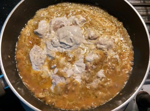Palak Chicken Pan
