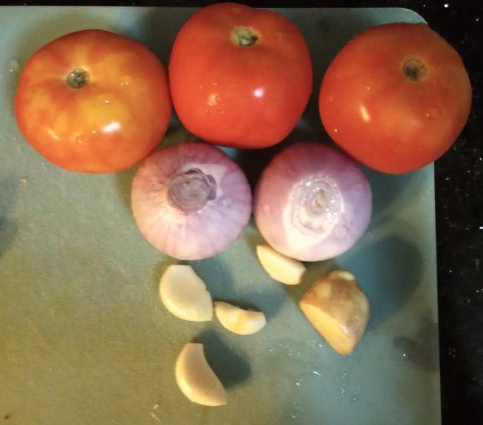 Capsicum Masala - Veggies