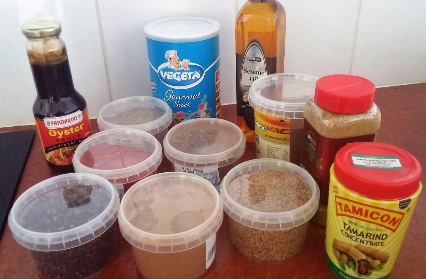 Recipe-less Spice Appreciation