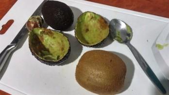 Avocado Kiwi Ice Cream - Avocado 1