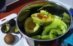 Avocado Kiwi Ice Cream - Avocado 2