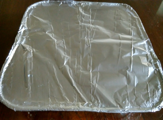 Date Cake - Foiled