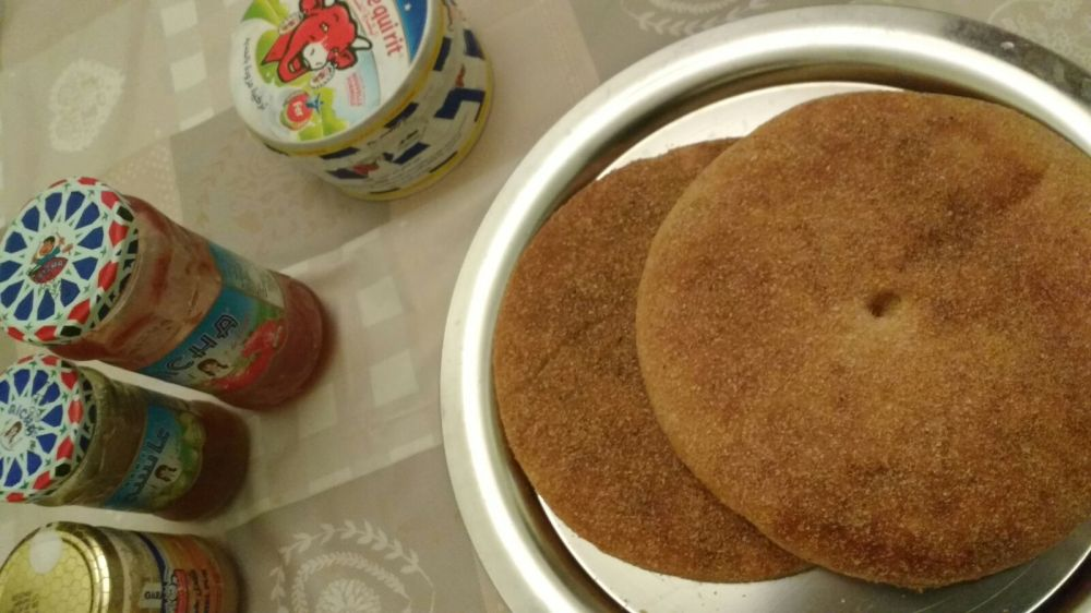 Tangiers - semolina flat bread
