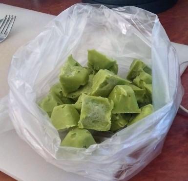Frozen Cubes Avocado - Bag