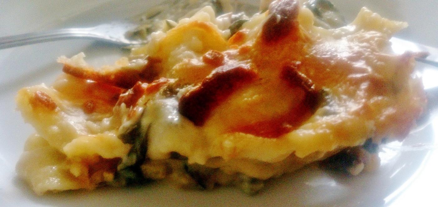 Cheesy Béchamel Lasagne