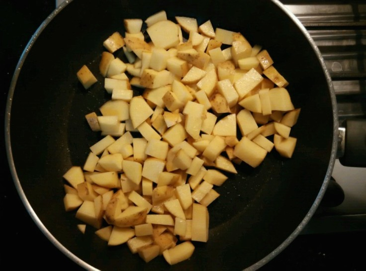 Garlic and Basil Mashed Potato - Potato