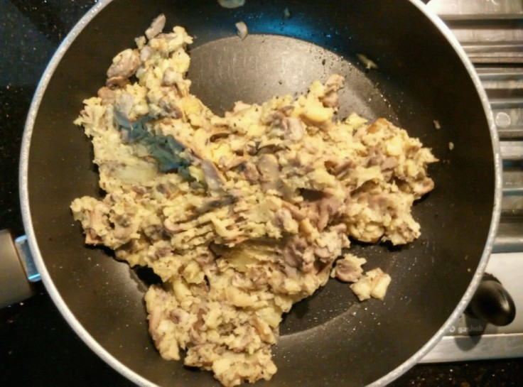 Garlic and Basil Mashed Potato - Mashed