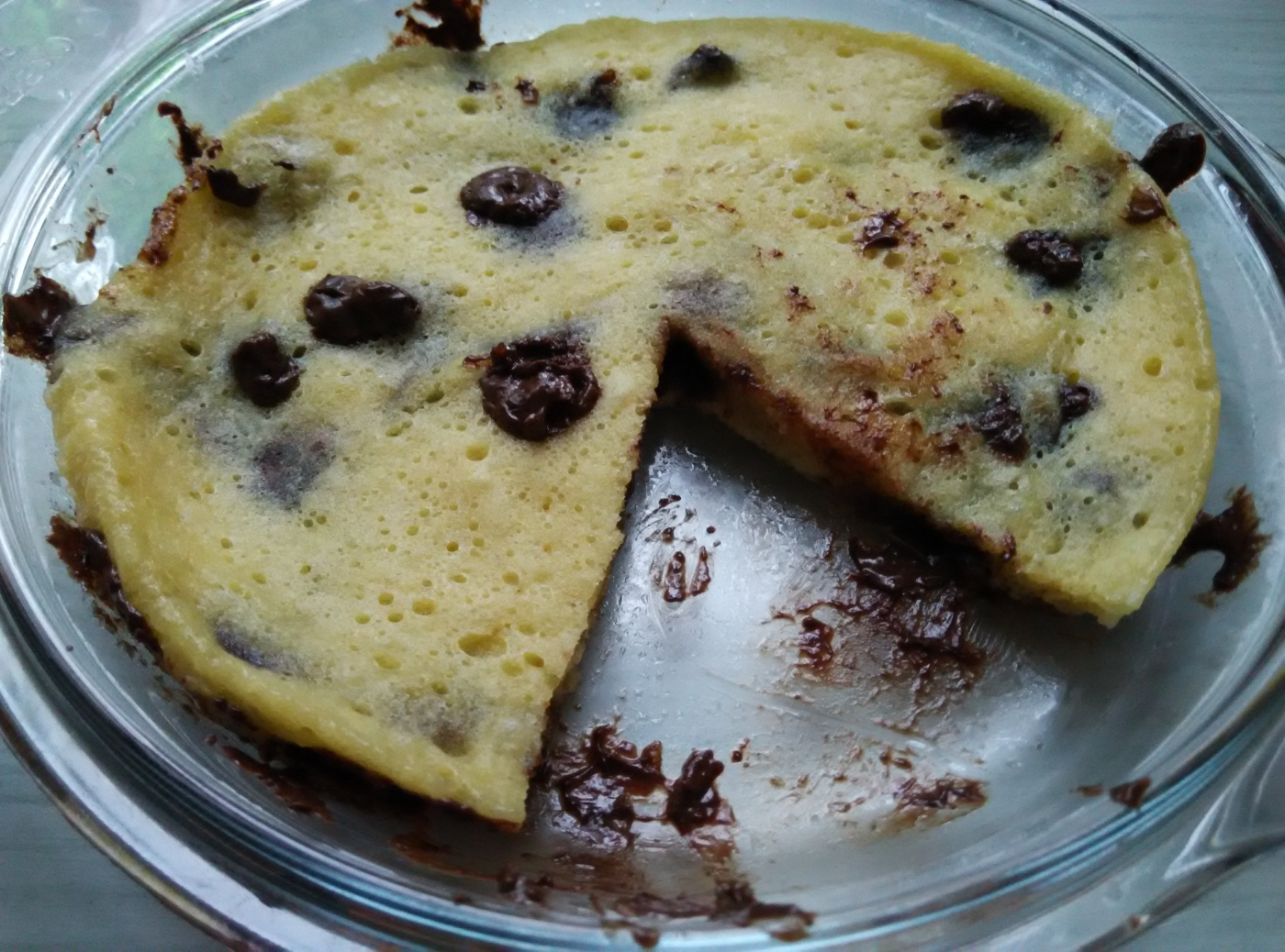 Chocolate Chip Cookie Pancake