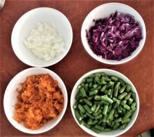 Cabbages Stir-Fry - Ingredients