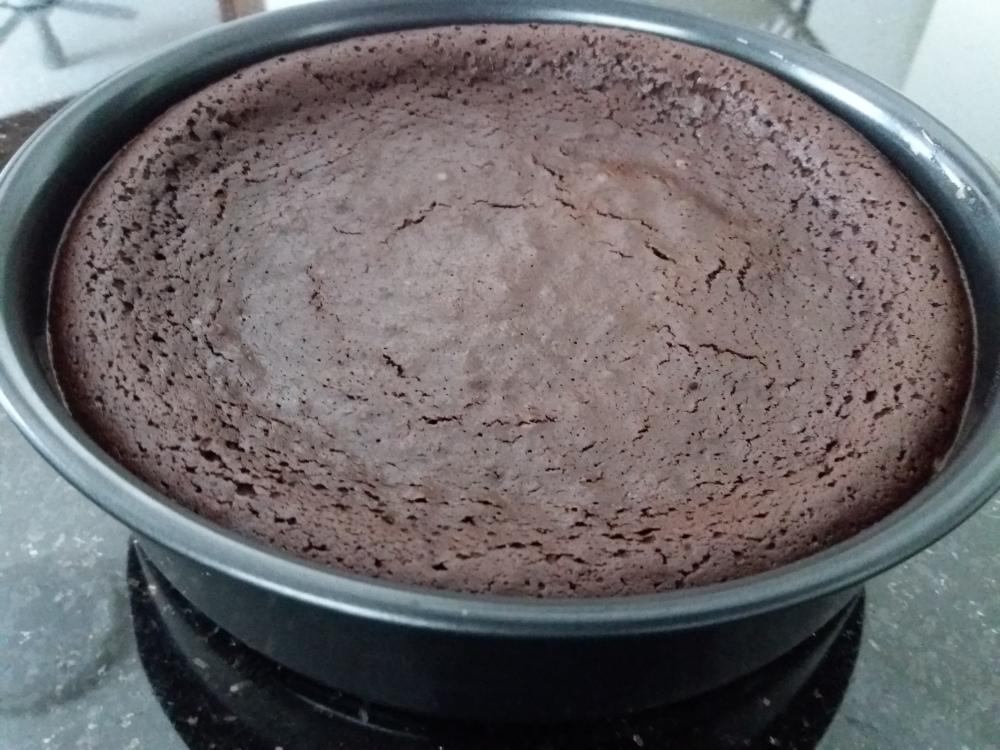 Flourless Brownies - Pan