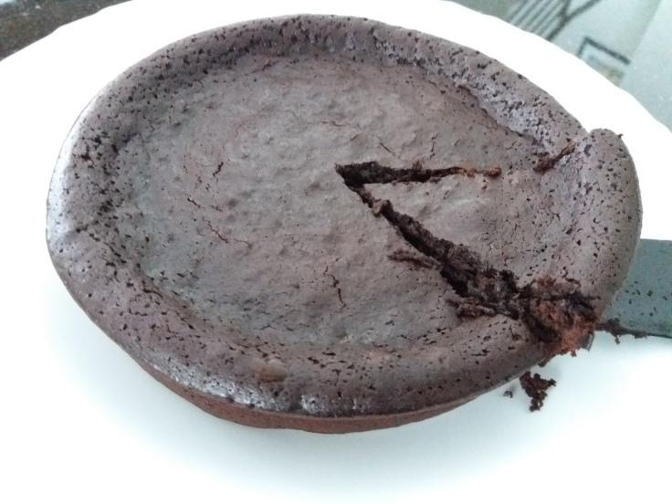 Flourless Brownies - Slice