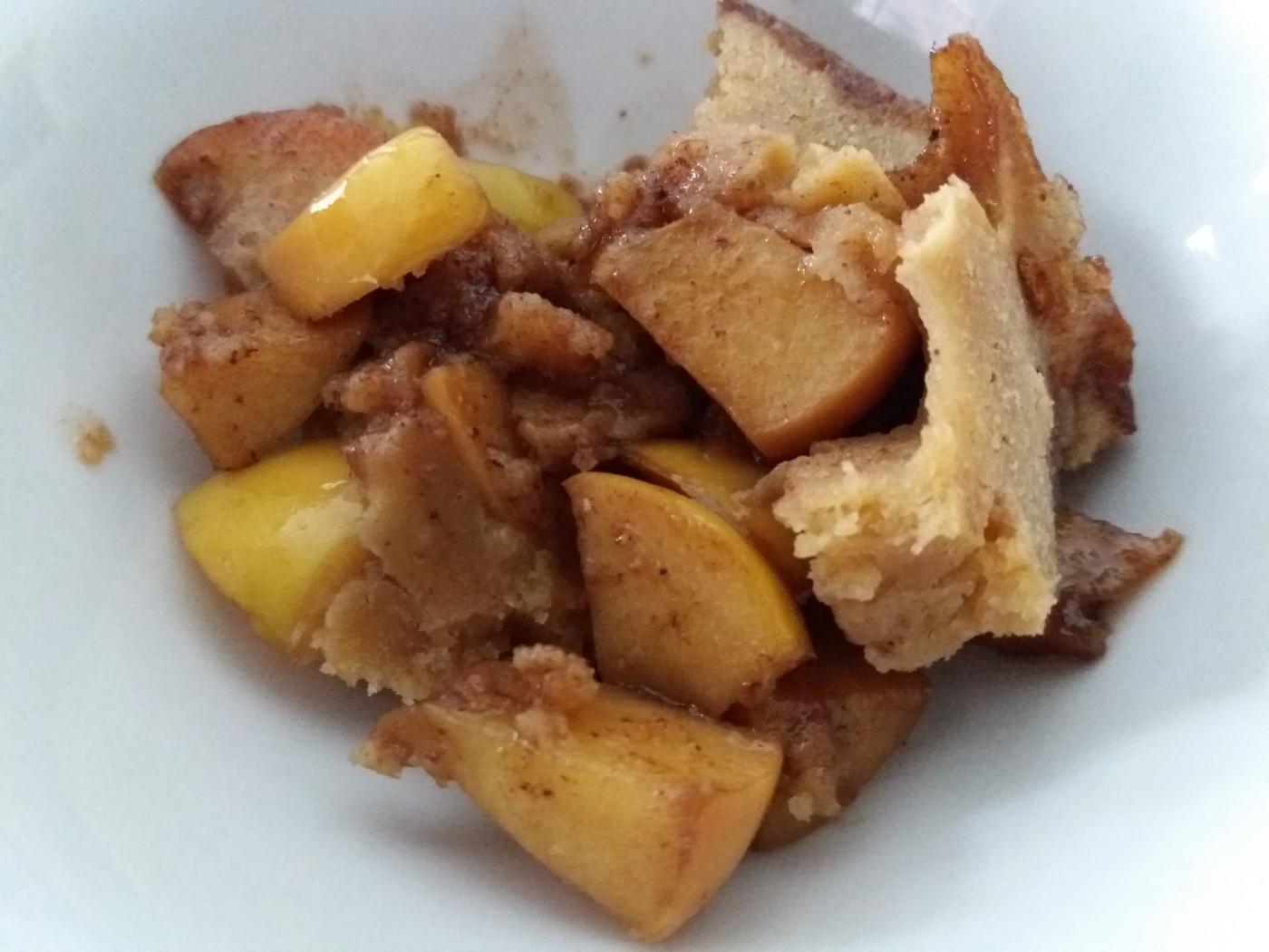 Apple Cheese Cake Cobbler
