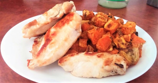 Sweet Potato with Chicken