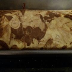 Banana Bread-Cake - Marbled