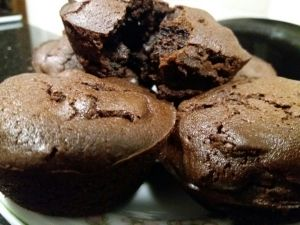 Chocolatey Chocolate Muffins