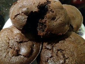 Chocolatey Chocolate Muffins 2