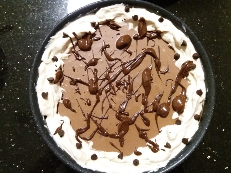 Hersheys Chocolate Pie - Topping