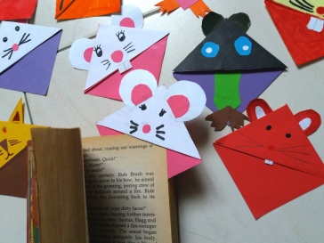 Bookmarks with Ears b